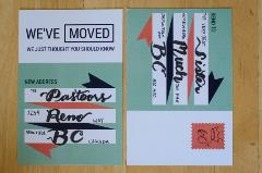 picture about Free Printable Moving Announcements known as The Top Variety of Relocating Announcement Templates