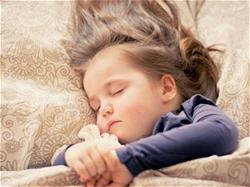 Child Sleeping after move