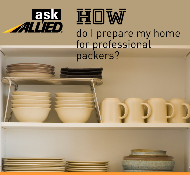 Prepare for Professional Packers