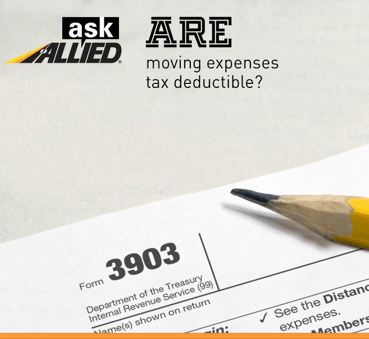 Ask Allied Are Moving Expenses Tax Deductible