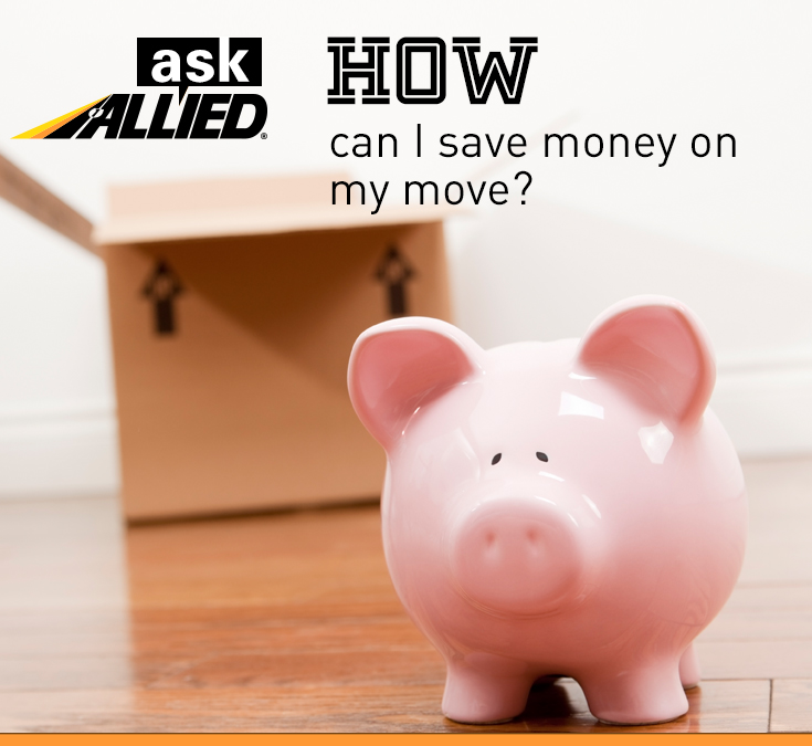 How to save money on a move