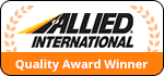 Click to see why we're an Allied International Quality Award Winner