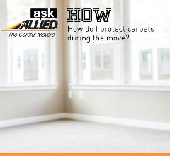 Learn how to protect carpet when moving