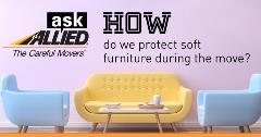 How do we protect soft furniture during a move?