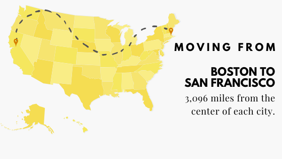 Moving: Boston to San Fran