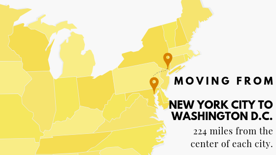 Moving From DC to NYC
